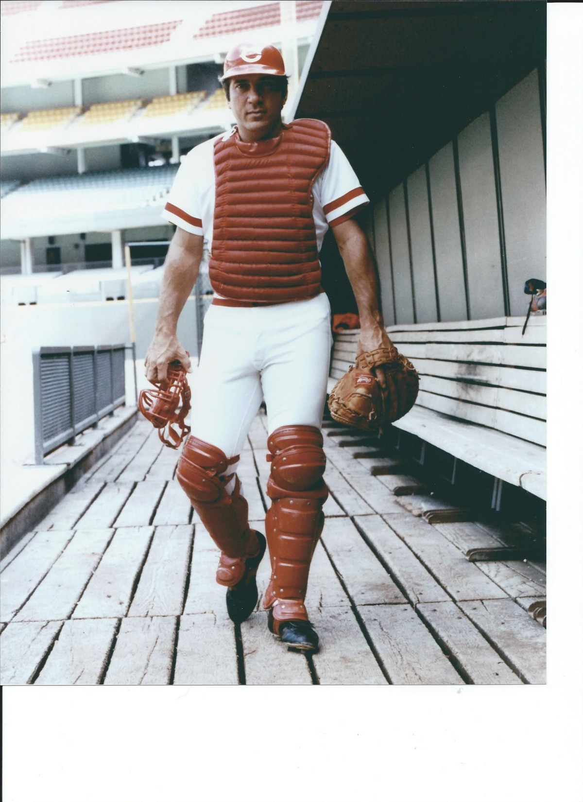 Johnny Bench Photos Part - 38: Click On The Image To View A High Res Version.